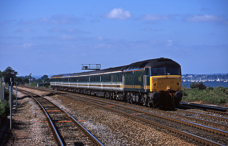 47815, 14.03 London Paddington-Penzance, Dawlish Warren, 1-7-01.