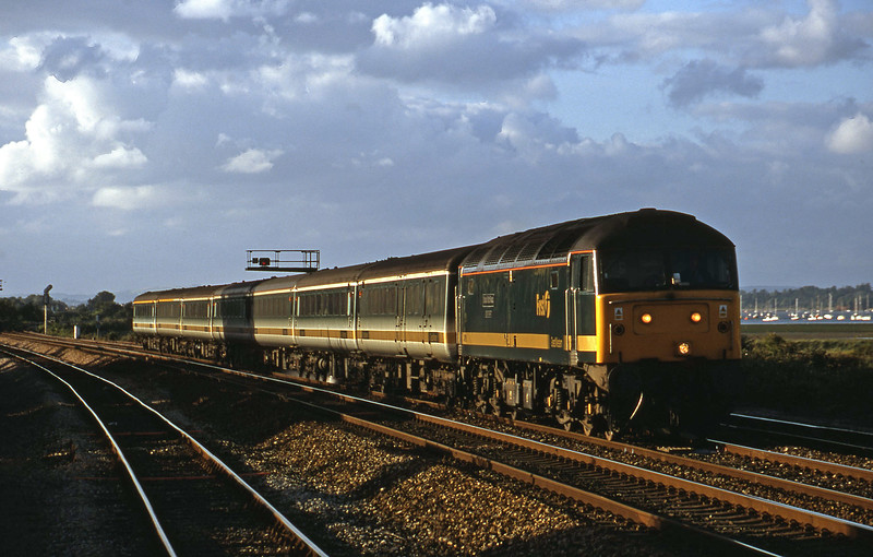47816, 16.33London Paddington-Plymouth, Dawlish Warren, 12-7-01.