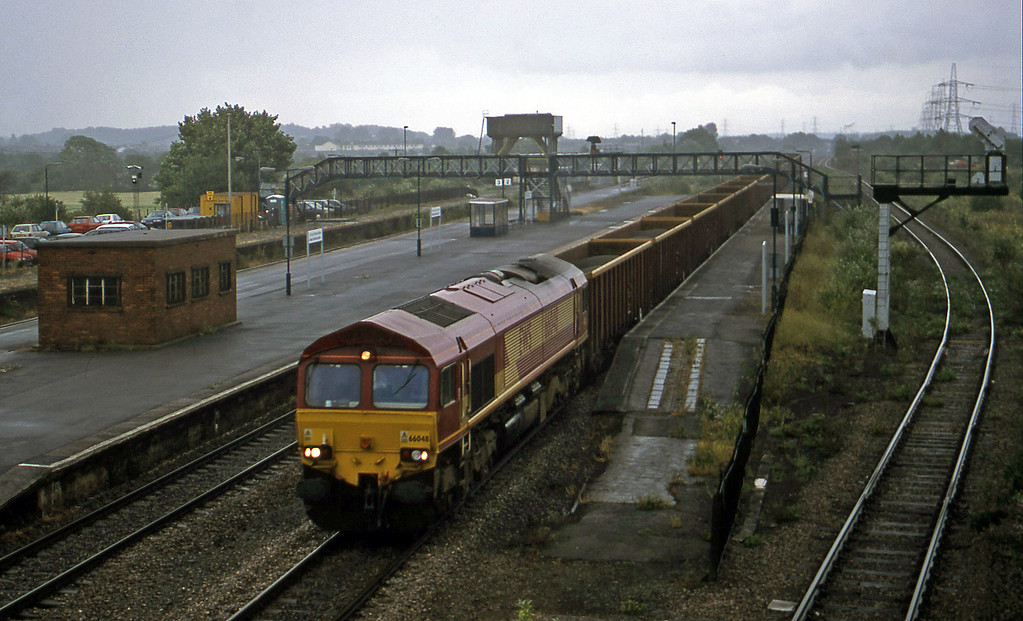 66048, 09.19 Westbury-Cwmbargoed, Severn Tunnel Junction, 10-7-01.