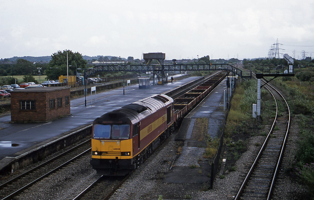 60030, down, from Gloucester line, Severn Tunnel Junction, 10-7-01.