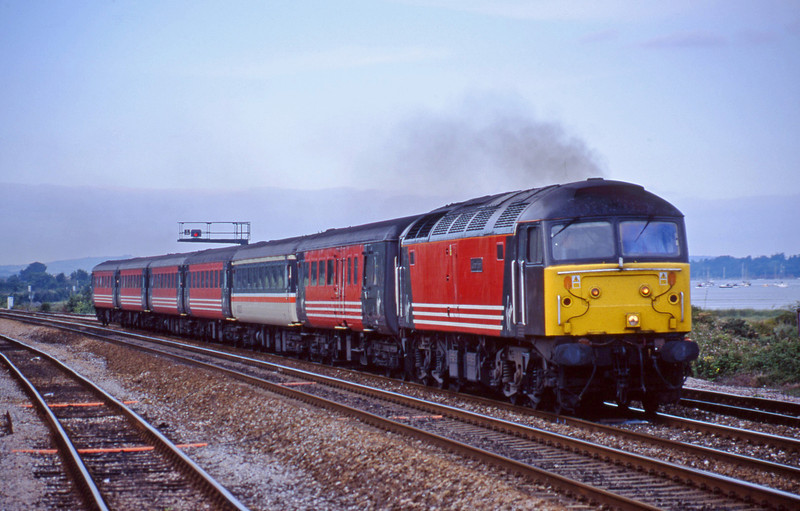 47841,,08.40 Glasgow-Penzance, Dawlish Warren 30-7-01.