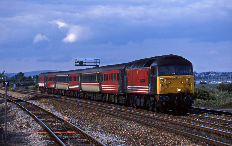 47822, 08.40 Glasgow-Penzance, Dawlish Warren, 24-7-01.