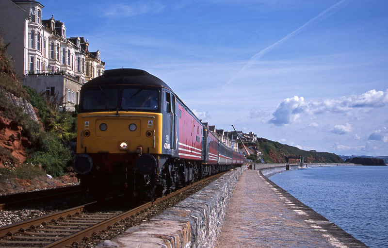 47849, 06.05 Derby-Plymouth, Dawlish, 24-7-01.