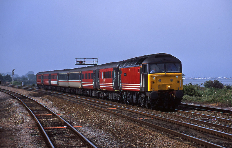 47831, 08.40 Glasgow-Penzance, Dawlish Warren, 2-7-01.