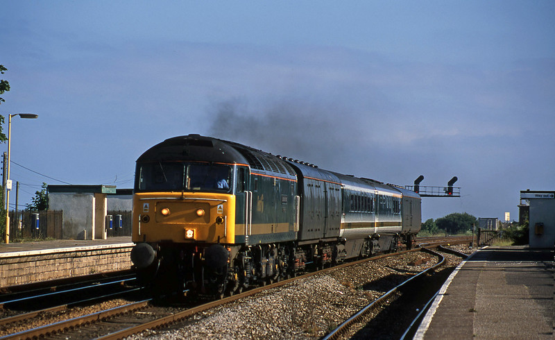 47816, up stock move, Dawlish Warren, 1-7-01.