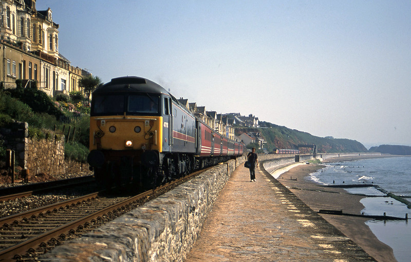 47712, 06.05 Derby-Plymouth, Dawlish, 3-7-01.