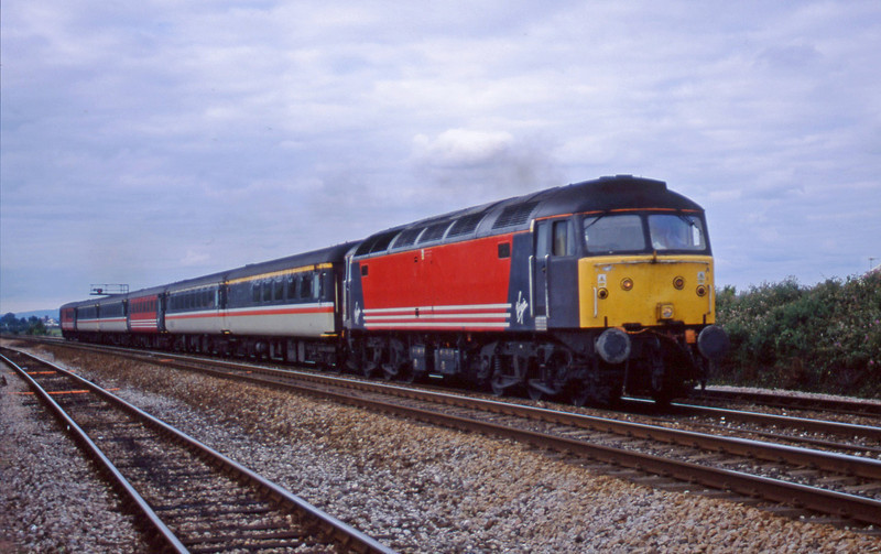 47827, 08.40 Liverpool Lime Street-Plymouth, Dawlish Warren, 23-7-01.