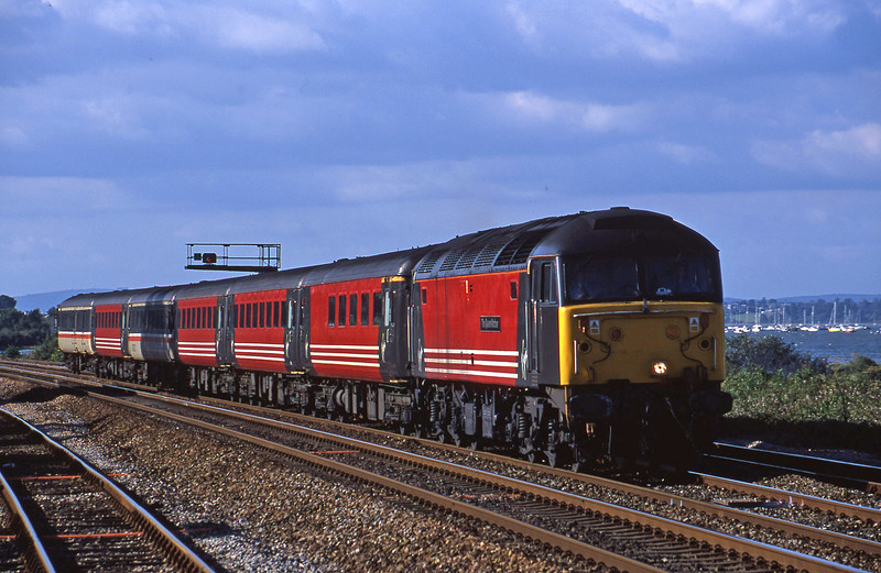 47722, 08.40 Glasgow-Penzance, Dawlish Warren, 19-7-01.