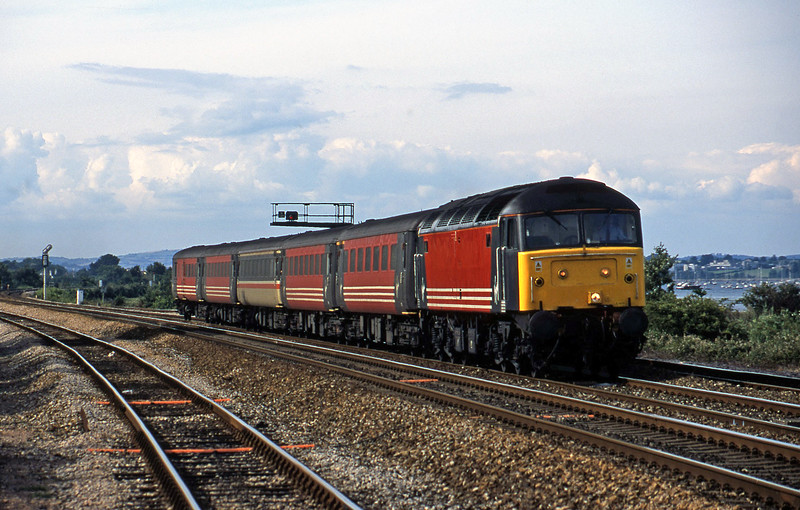 47829, 08.40 Glasgow-Penzance, Dawlish Warren, 16-7-01.