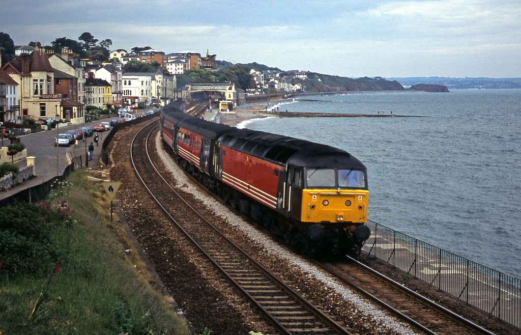 47839, 08.40 Glasgow-Penzance, Dawlish, 5-6-01.