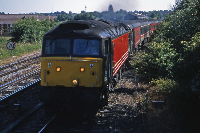 47812, 14.40 Portsmouth Harbour-Blackpool, Didcot North Junction, 19-6-01.