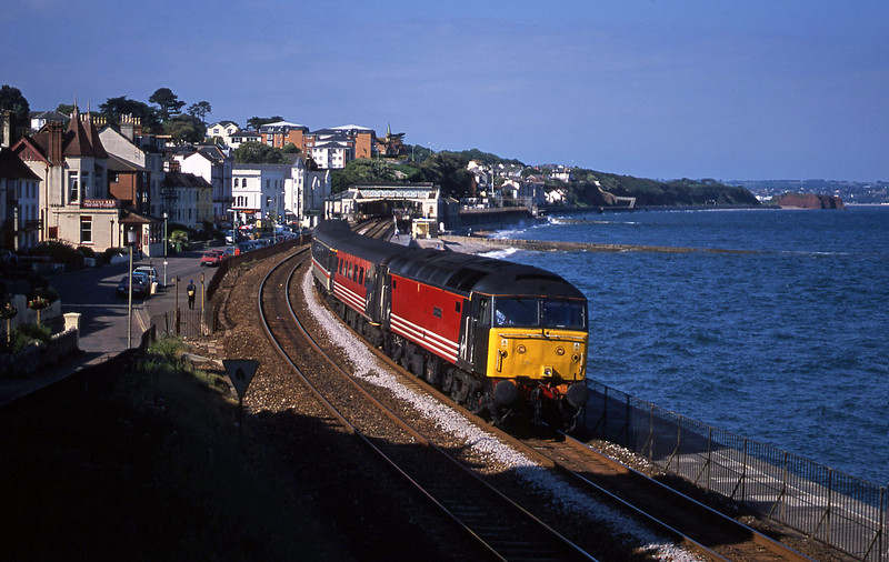 47841, 08.40 Glasgow-Penzance, Dawlish, 4-6-01.