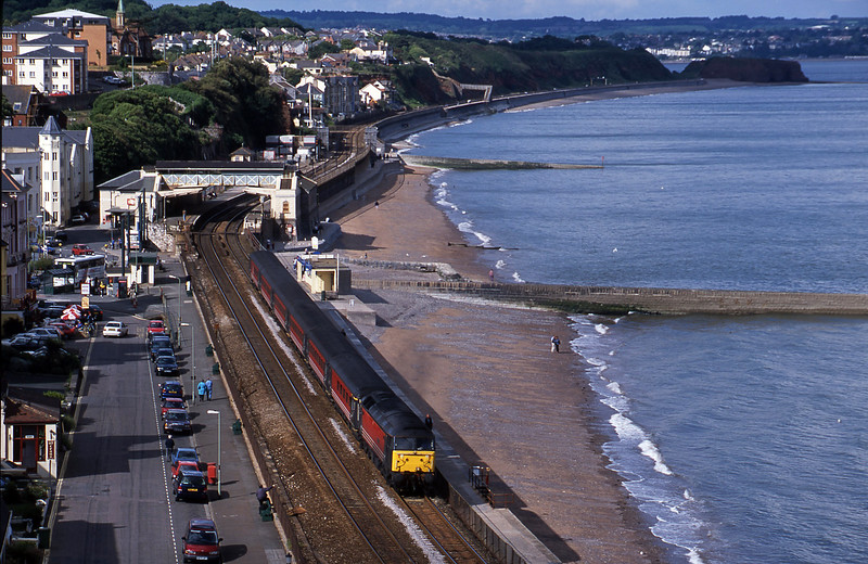 47741, 08.40 Glasgow-Penzance, Dawlish, 9-6-01.