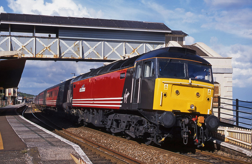 47810, 08.40 Glasgow-Paignton, Dawlish, 16-6-01.