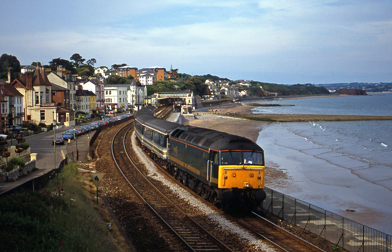47830, 14.33 London Paddington-Plymouth, Dawlish, 12-6-01.