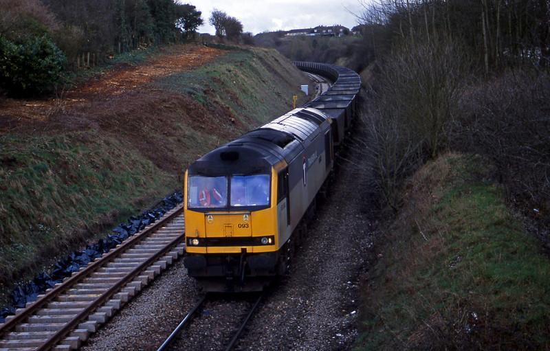 60093, Didcot Power Station-Avonmouth Bulk Handling Terminal, Brentry, Bristol, 27-3-01.