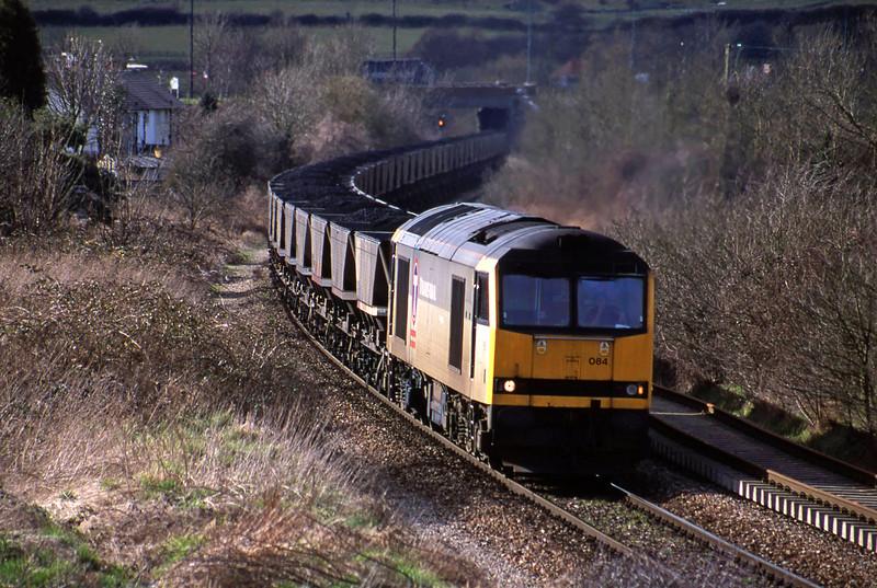 60084, Avonmouth Bulk Handling Terminal-Didcot Power Station, Brentry, Bristol, 13-3-01.