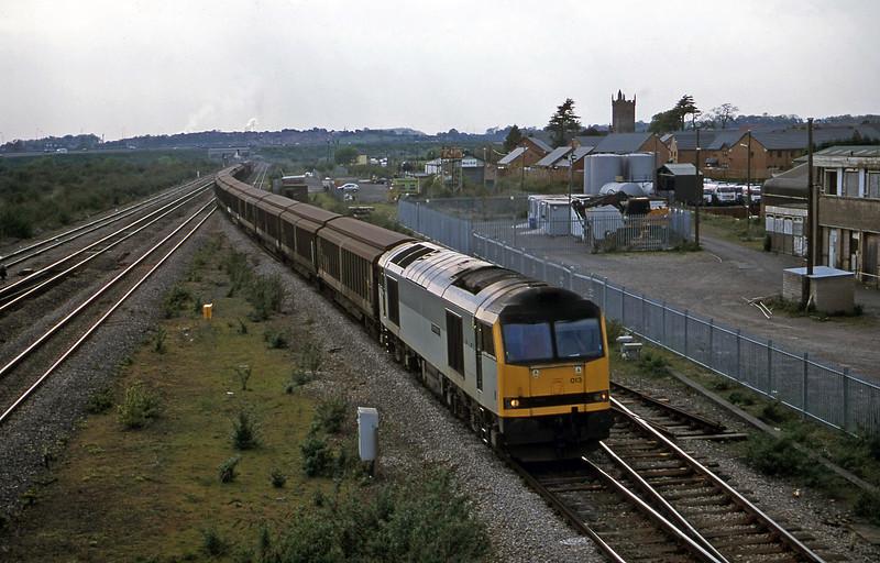 60013, 16.46 Newport Alexabdra Dock Junction Yard-Wembley, Severn Tunnel Junction, 8-5-01.
