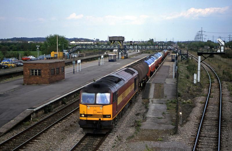 60012, 13.40 Theale-Robeston, Severn Tunnel Junction, 8-5-01.