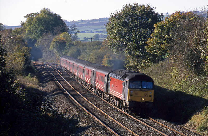 47807, 11.50 Plymouth-Liverpool Lime Street, Whiteball, 15-11-01.