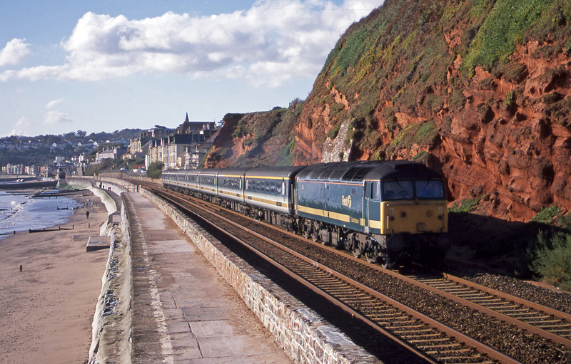 47811, 08.20 Penzance-London Paddington, Dawlish, 13-11-01.