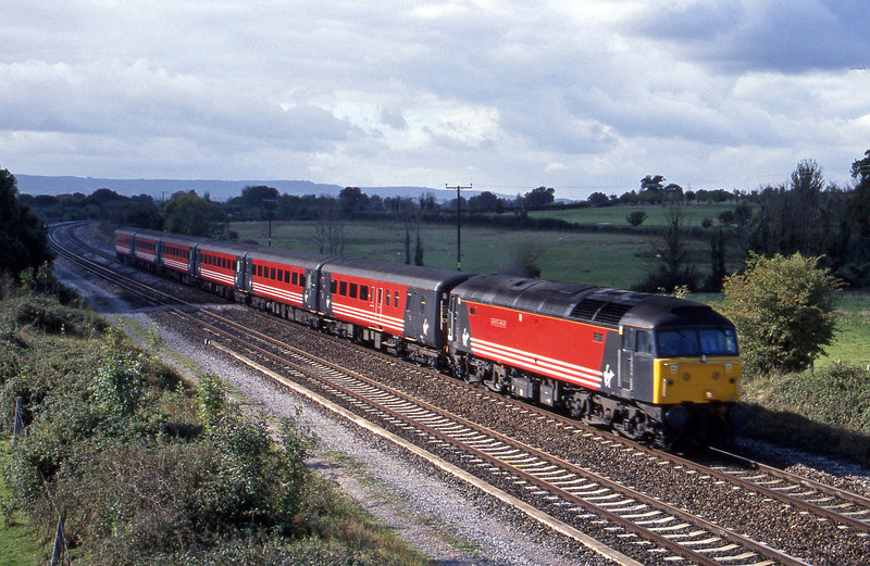 47840, 08.46 Penzance-Manchester Piccadilly, Cogload, 9-10-01.