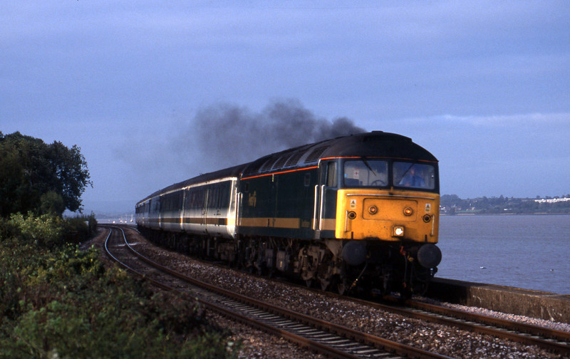 47811, 14.33 London Paddington-Plymouth, Starcross, 18-10-01.