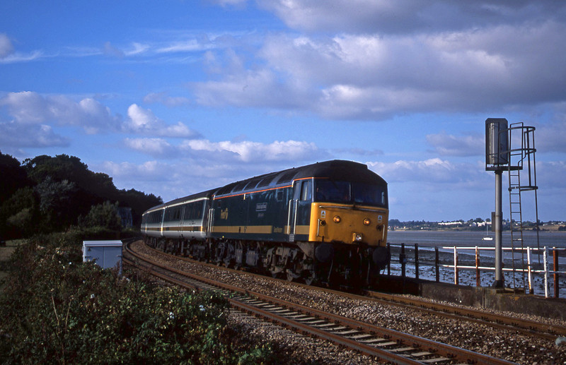 47816, 14.33 London Paddington-Plymouth, Starcross, 10-9-01.