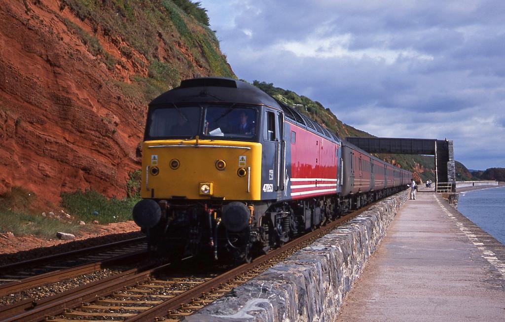 47853, 06.05 Derby-Plymouth, Dawlish, 7-9-01.