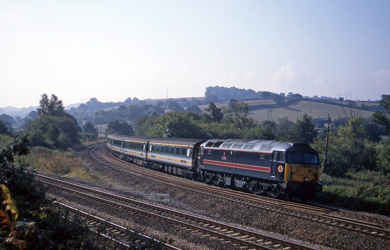 47709,08.20 Penzance-London Paddington, Aller Divergence, Newtown Abbot, 25-9-01.