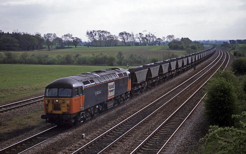 56074, down mgr empties, Bolton Percy, near York, 23-4-02.