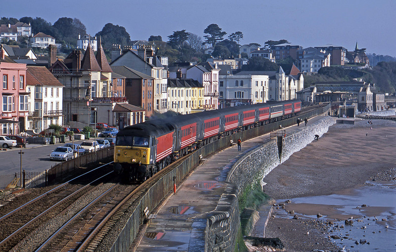 47844, 06.05 Derby-Plymouth, Dawlish, 9-4-02.