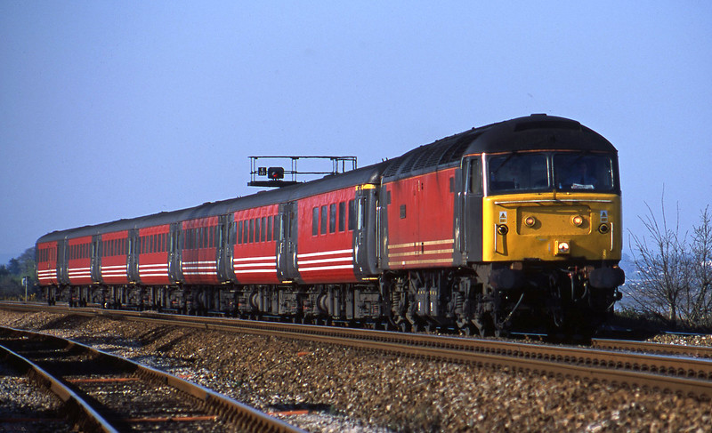 47818, 08.40 Glasgow-Penzance, Dawlish Warren 6-4-02.
