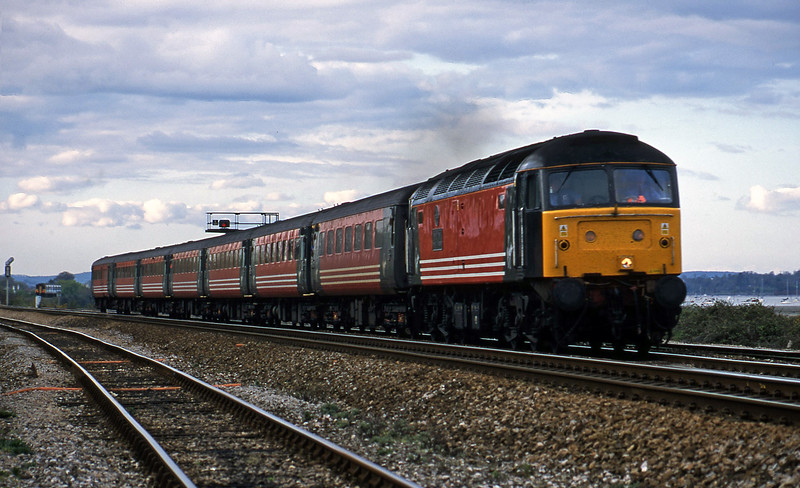 47848, 08.40 Glasgow-Penzance, Dawlish Warren, 19-4-02.