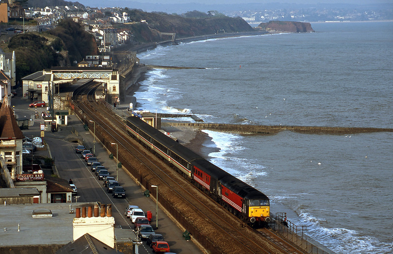 47828, 08.40 Glasgow-Penzance, Dawlish, 9-4-02.