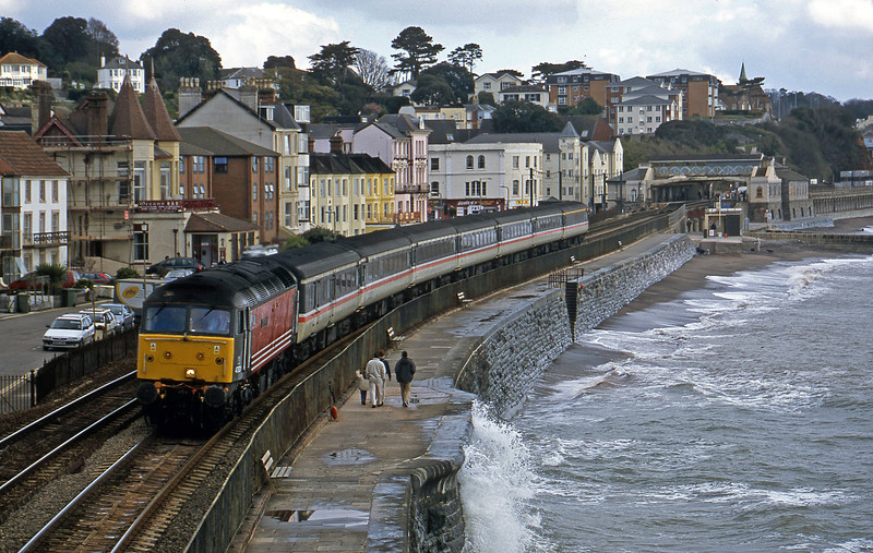 47831, 06.05 Derby-Plymouth, Dawlish, 13-4-02.