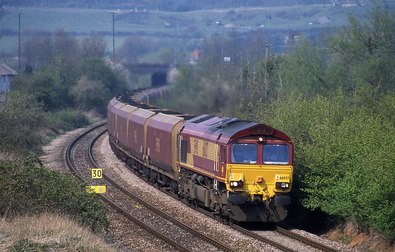 66027, Avonmouth Bulk Handling Terminal-Didcot Power Station, Brentry, Bristol, 12-4-02.