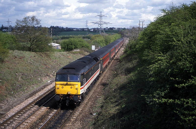 47826, 11.15 Manchester Piccadilly-Bristol Temple Meads, Stoke Gifford, Bristol, 18-4-02.