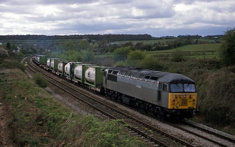 56063, 16.04 Avonmouth Bulk Handling Terminal-Newport Alexandra Dock Junction Yard, Brentry, Bristol, 18-4-02.