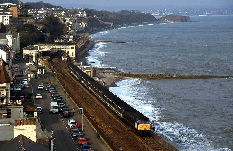 47815, 14.33 London Paddington-Plymouth, Dawlish, 9-4-02.