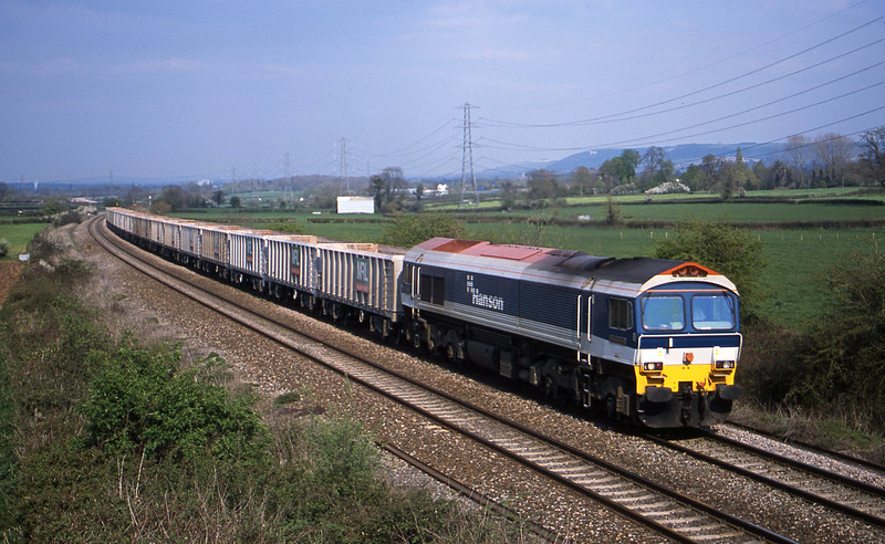 59102, 10.35 Sevington-Merehead Quarry, Berkley Marsh, near Frome, 16-4-02.