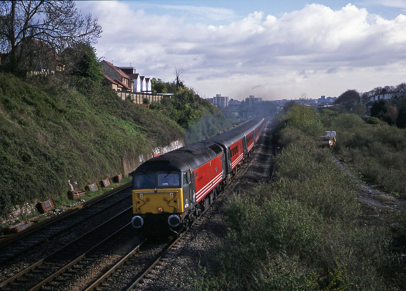 47741, 06.05 Derby-Plymouth, Malago Vale, Bristol, 18-4-02.