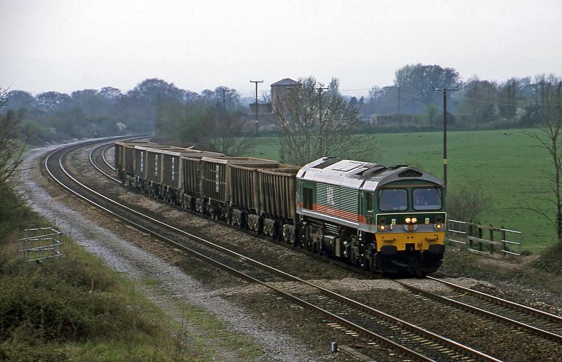 59002, Exeter Riverside Yard-Westbury Yard, Cogload, 2-4-02.