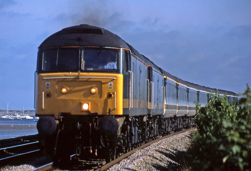 47830/47811, 16.38 Plymouth-London Paddington, Starcross, 2-8-02.