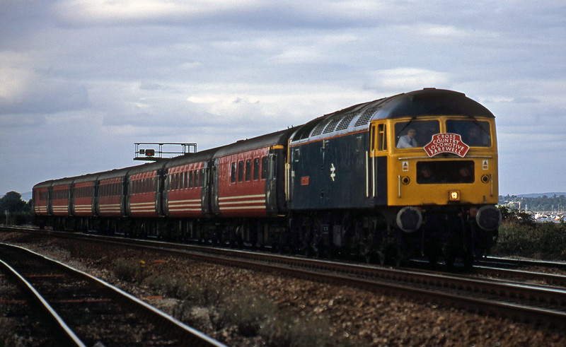 47840, 08.40 Glasgow-Penzance, Dawlish Warren, 15-8-02.