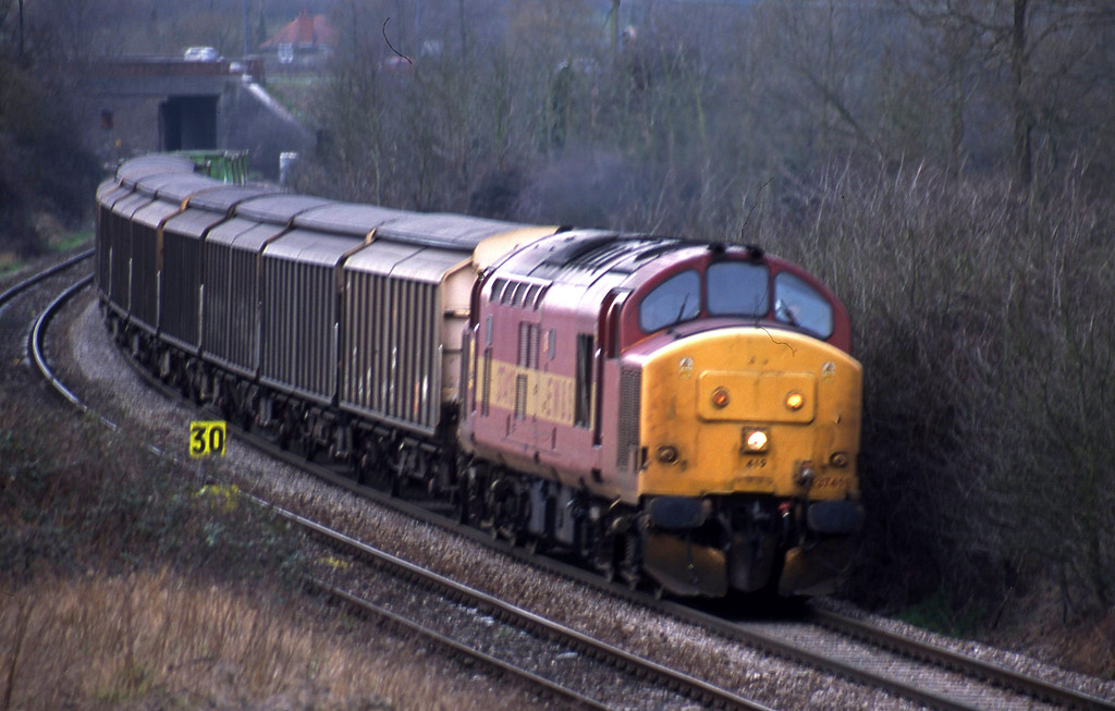 37419, up Enterprise, Brentry, Bristol, 19-2-02.