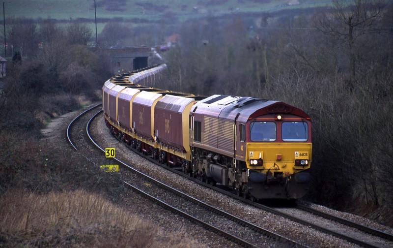 66125, Avonmouth Bulk Handling Terminal-Didcot Power Station, Brentry, Bristol, 12-2-02.