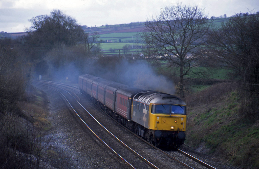 47847, 11.50 Plymouth-Liverpool Lime Street, Whiteball, 13-2-02.
