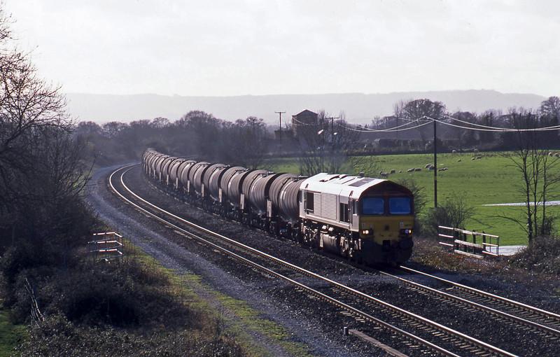 66176, 09.40 Burngullow-Irvine, Cogload, 6-2-02.