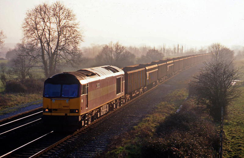 60002, Exeter Alphington Road-Cardiff Tidal, Cogload, 16-2-02.